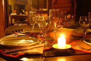 Como organizar una cena rom ntica en casa for Cenas romanticas en casa para dos