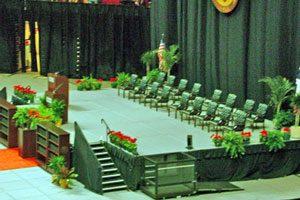 Tipos de ceremonias que puede organizar una institución o empresa
