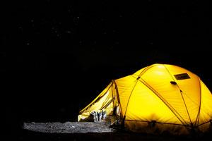 Cómo organizar una salida de acampada con niños