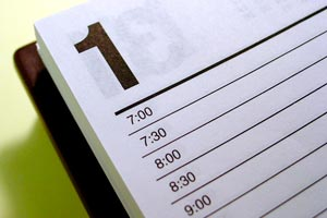 Lista de tareas a resolver para desarrollar un evento