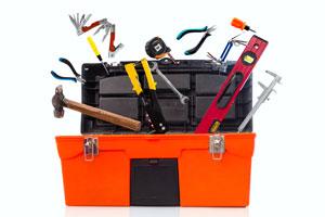 Cómo organizar y crear una caja de herramientas completa