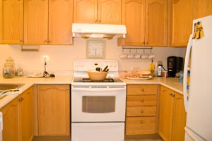 Un método para ordenar la cocina en sectores según las tareas por hacer