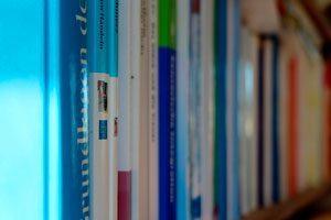 Idea para organizar los libros en tu biblioteca