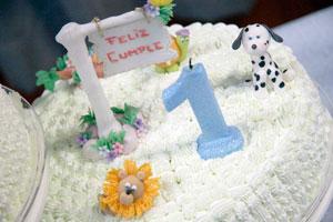 Consejos para organizar el primer festejo de cumpleaños de tu bebé