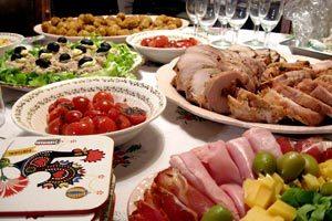 Una idea para organizar las comidad de fin de año y Navidad con los familiares