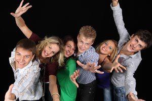 Un evento para que los jóvenes tengan su primer salida a bailar