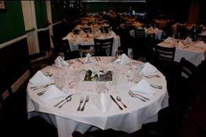 Reglas para disponer los platos y otros elementos para la comida en un evento formal