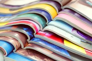 Idea para organizar revistas y libros