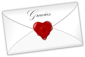 Cómo organizar las notas de agradecimiento por los regalos de boda