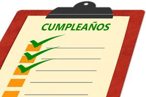 Planifica los cumpleaños de todo el año desde hoy