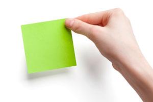 Usos prácticos de los post-it para organizar tareas