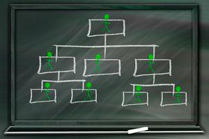 Los distintos tipos de organigramas y cronogramas